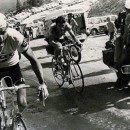 The Man with the Hammer strikes Merckx as Thevenet passes him