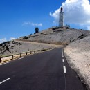 The mighty summit of le Mont Ventoux