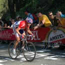Michael Boogerd races in Amstel Gold