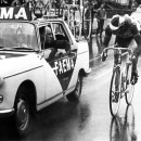 Before race radios, riders had to think for themselves or risk falling back to the cars to speak with their D.S.