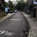 The steep climb of the Muur de Huy