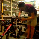 A Velominatus' labor of love: working on a bike
