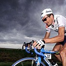 Rider on the storm. Ree-chaard goes solo, 2001. Pic: Cor Vos/Pez