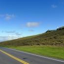 Near the 5000 foot halfway point on Haleakala.