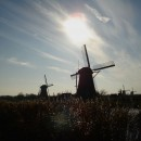 The iconic windmills of the Netherlands