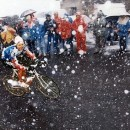 Hampsten on the Gavia in '88. Photo via Rapha.cc