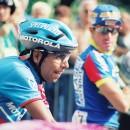 Mejia, a pioneer of helmets in the peloton