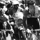 LeMond and Hinault do battle on l'Alpe d'Huez.  Photo CorVos/Pez
