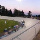 racing at the Marymoor velodrome