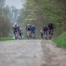 Hitting the cobbles. Photo: Jesse Willems