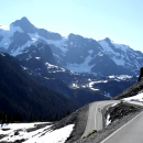 The ride up Mt. Baker is long, hard, and stunning