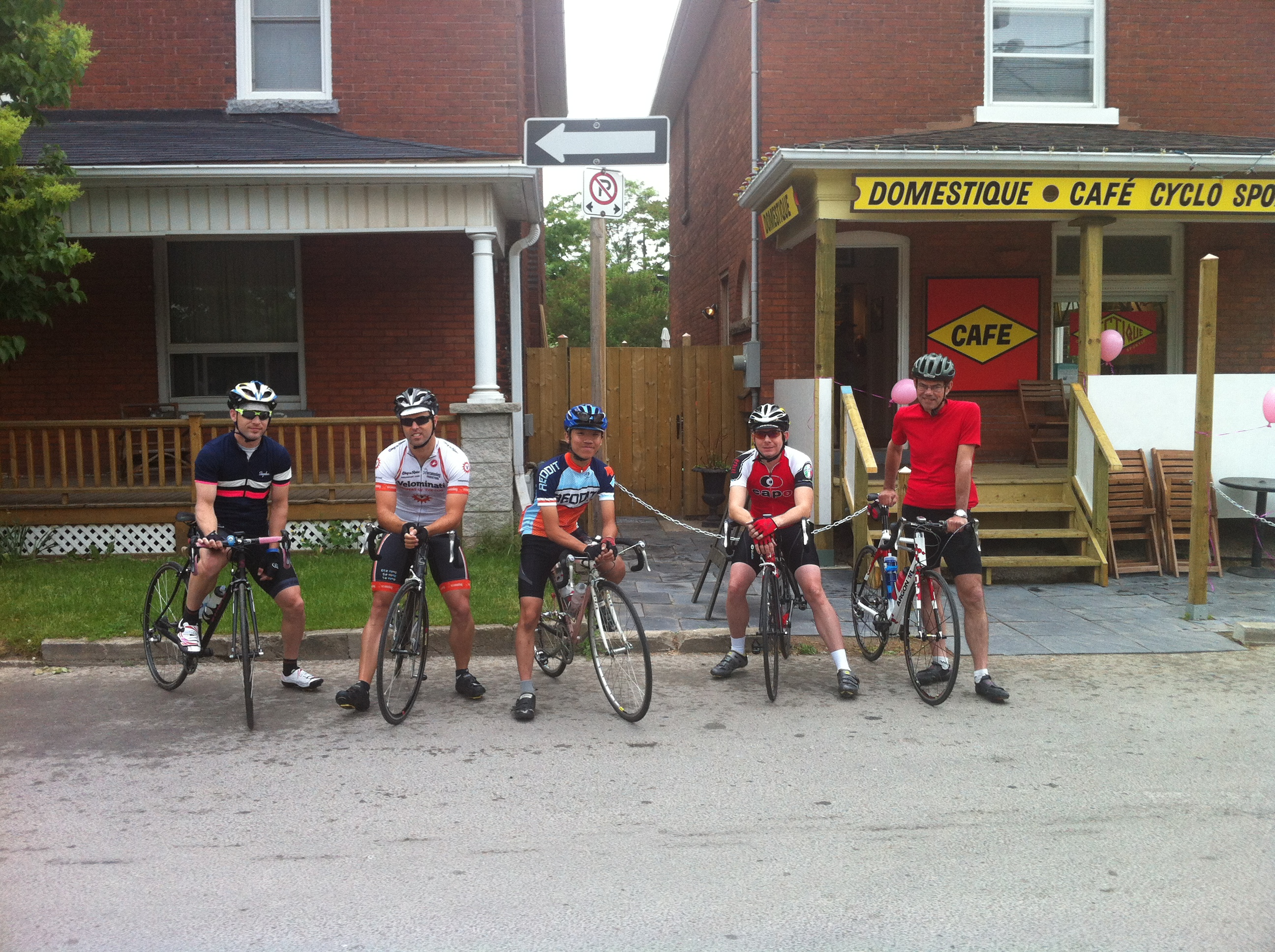 L-R: Nick, Steampunk, Adrian, Tartan1749, Will