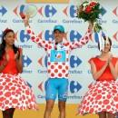 Polka dot jersey of Best Climber, France