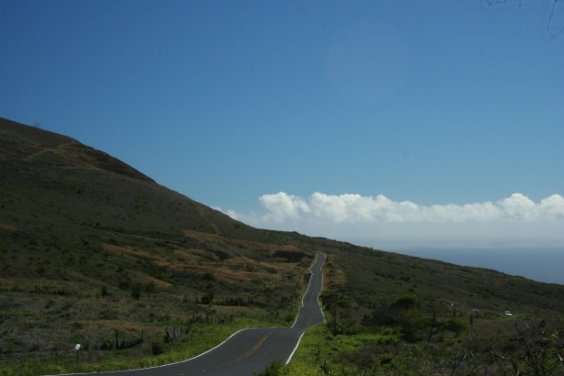 Heading toward Kaupo
