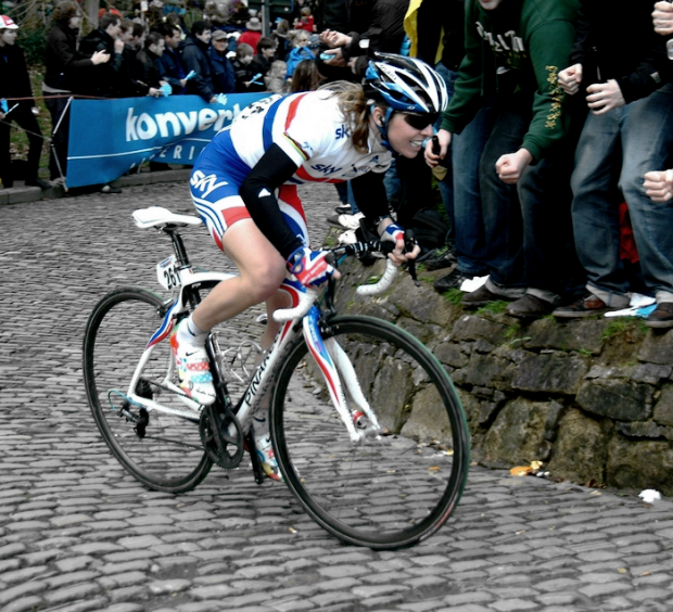 Nicole Cooke on the Kapelmuur