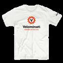 Witte V-Shirt
