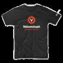 Zwarte V-Shirt