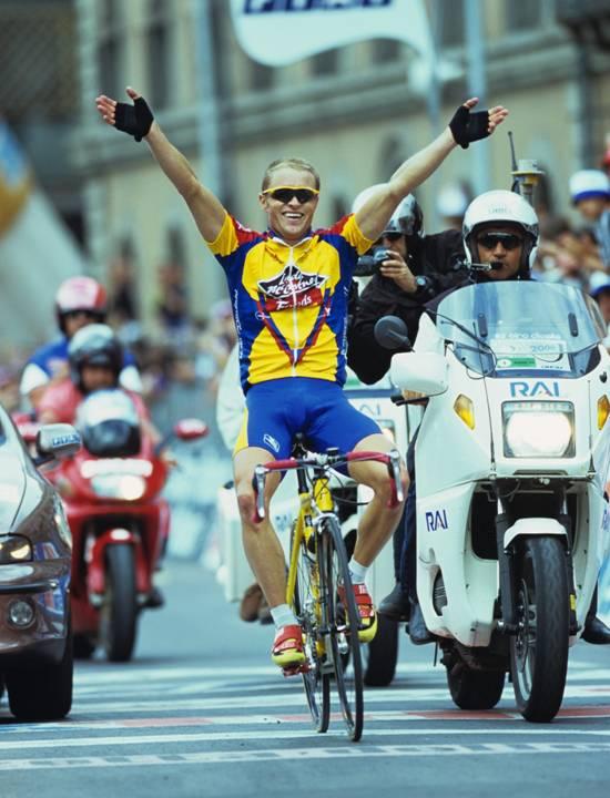 No animals were harmed during this 16okm solo Giro win. Photo Graeme Watson