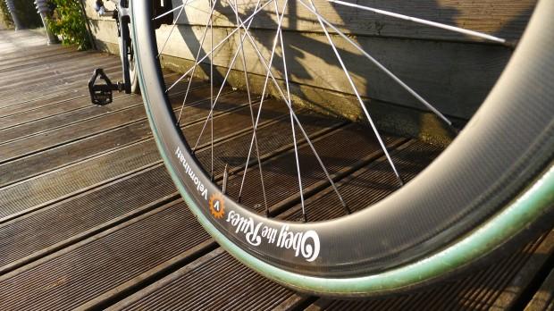 Frank's favorite-ever wheels, the Café Roubaix Arenbergs.