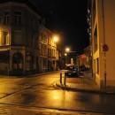 Antwerp at night  photo: S.N. Severinghaus