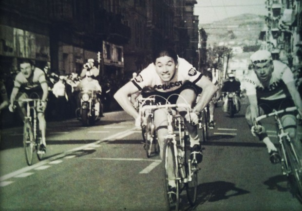 Merckx takes his first of seven MSRs.