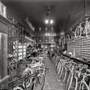 Metzger Bicycle Shop, Detroit City Gas Co, circa 1912. Photo: Detroit Publishing Company