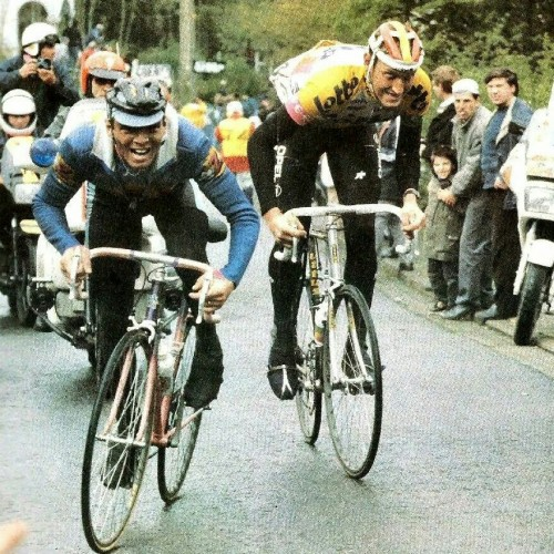 Climbing used to be all about disco; in Flanders, it still is.
