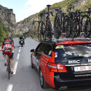"Off the back is the worst place to be. Photo: Tim De Waele <a href=""http://www.tdwsport.com"" target=""_blank"">TDWsport.com</a>"