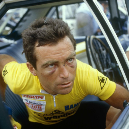 Black eyes and yellow jersey go together like wine and pasta.