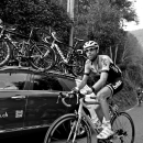 Laurens VV Dam rides in the cars at the 2014 Lombardia. Photo: Pedale.Forchetta