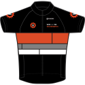 The VLVV Zwarte V-Jersey (front)