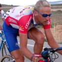 Platinum blond Frankie VDB goes deep in the Spanish desert.