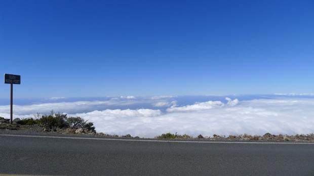 2743.2m above sea level - starting from 0m - and about 300m to go.