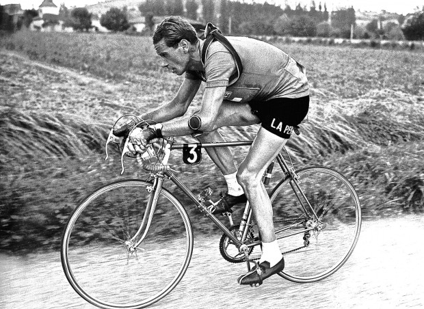 Koblet in all his Cyclist Magesty