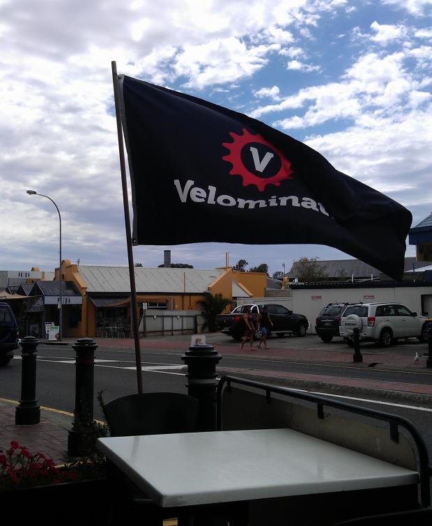 The V flag in OZ.